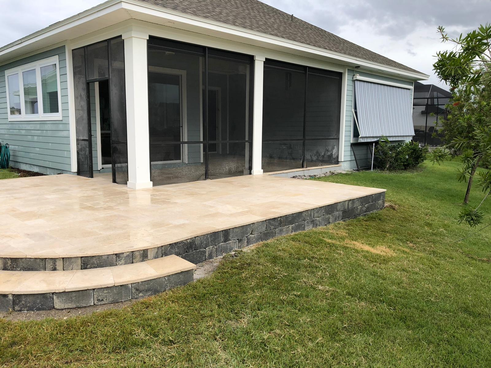 travertine-paver-lanai